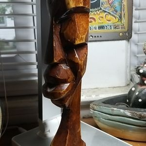 Vintage Wood Handcarved Tribal Art